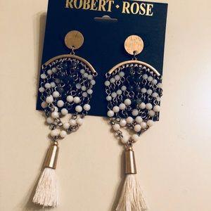 NWT Robert Rose earrings